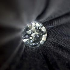 Deep Button Headboard with Swarovski Crystal Details